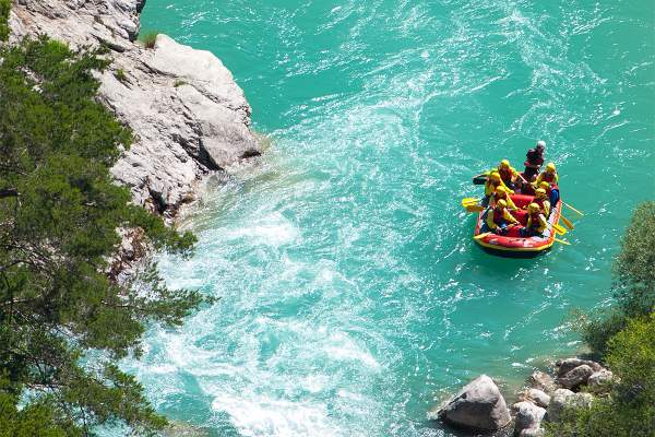 rafting canyoning verdon